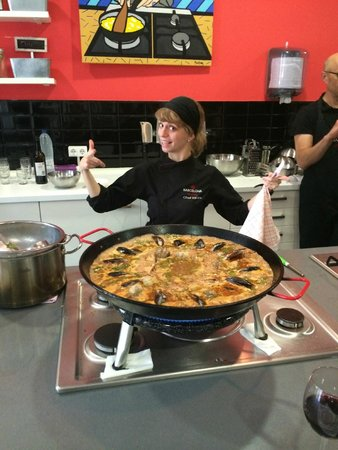Barcelona Cooking Classes: Paella