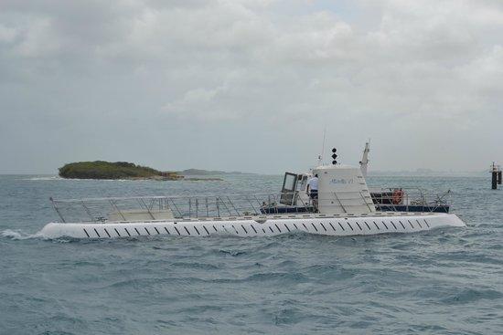 De Palm Tours: Atlantis Submarines Expedition: The sub