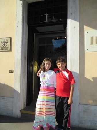 Palazzo Manfredi - Relais & Chateaux: entrance