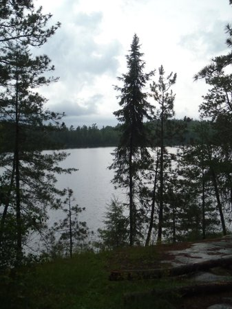 Boundary Waters Canoe Area Wilderness : Twin Lake view, Quetico Provincial Park