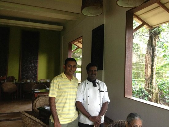 The Windflower Resort and Spa, Coorg: With Chef Nandakumar