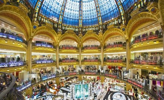 vista dal tetto picture of galeries lafayette paris. Black Bedroom Furniture Sets. Home Design Ideas