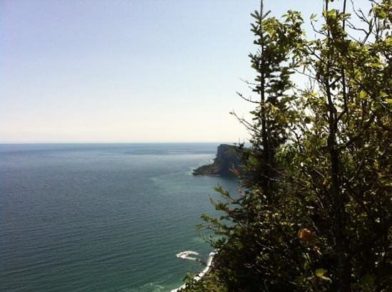 Forillon National Park: View from Mont Saint-Alban trail