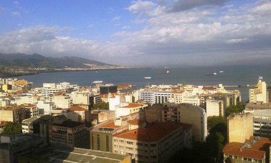 Hilton Izmir: vista do quarto