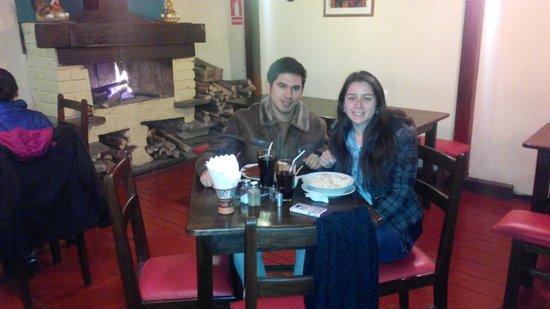 Restaurant Sumaqcha: Al lado de la leña
