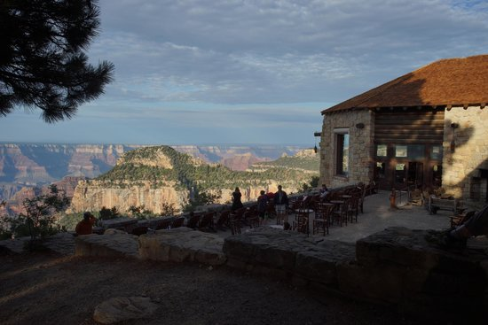 Grand Canyon Lodge - North Rim: Main Lodge Terrace