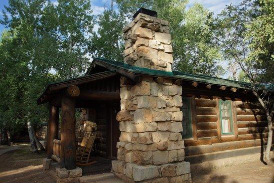Grand Canyon Lodge - North Rim : Exterior of Cabin