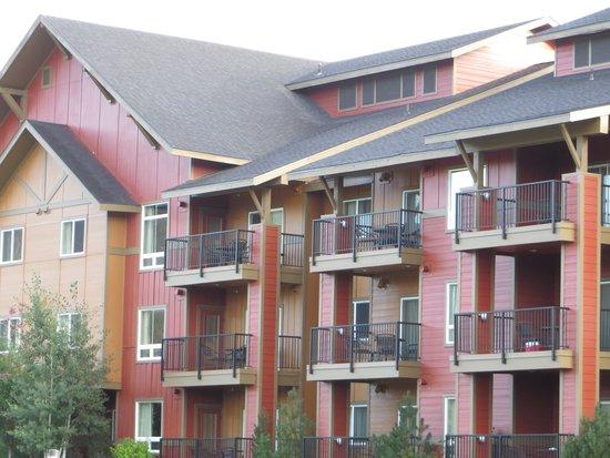 Wyndham Vacation Resorts Steamboat Springs : Building