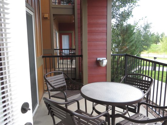Wyndham Vacation Resorts Steamboat Springs: Private Outdoor Space