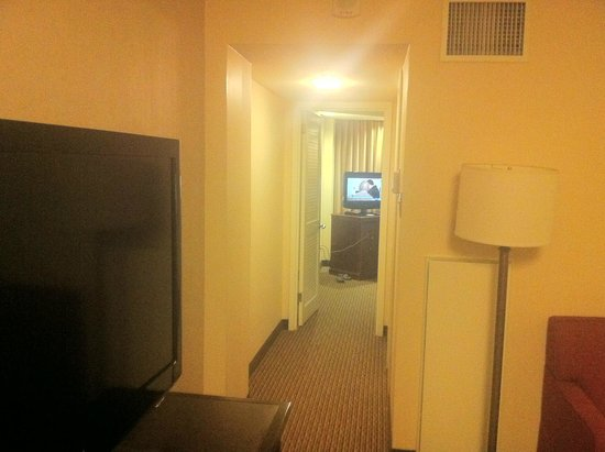 Embassy Suites by Hilton Tysons Corner: hall facing the bedroom