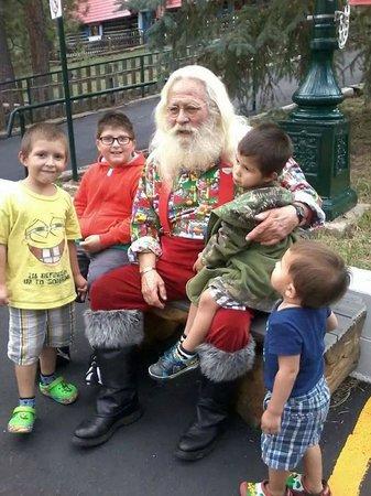 North Pole - Santa's Workshop: Visiting with Santa