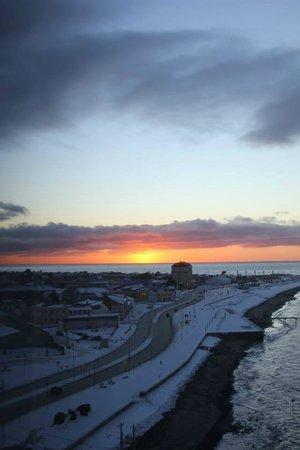 Hotel Dreams del Estrecho : Amanecer desde la habitación