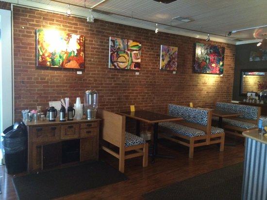 Opus Espresso & Food Bar: An interior view of Opus