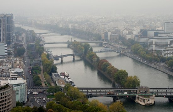 La Seine : From the Eiffel Tower