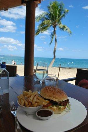 Sheraton Fiji Resort : Lunch at the Flying Fish restaurant