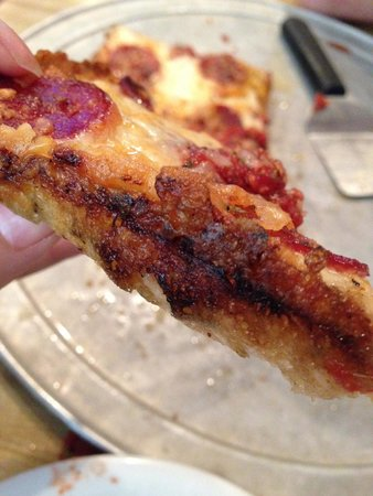 Buddy's Pizza-Detroit: the best crust ever!