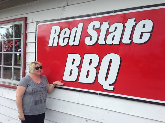 Red State BBQ: The Sign