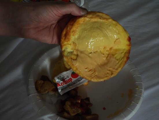 Best Western Yacht Harbor Hotel: Fake Eggs & FAKE Cheese Filling