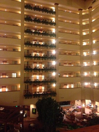 Embassy Suites by Hilton Hot Springs: The view from inside...