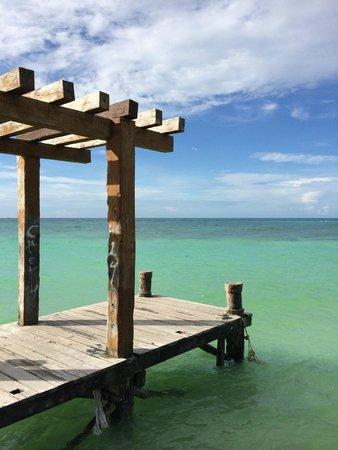 El Taj Oceanfront & Beachside Condos Hotel: From the jetty