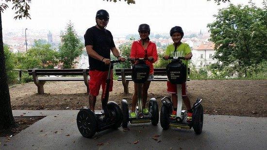 Prague On Segway, on E-Scooter, on Quad : Our Viewpoint Tour