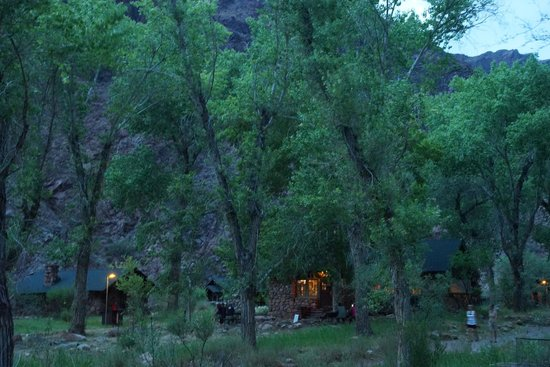 Phantom Ranch: View from room