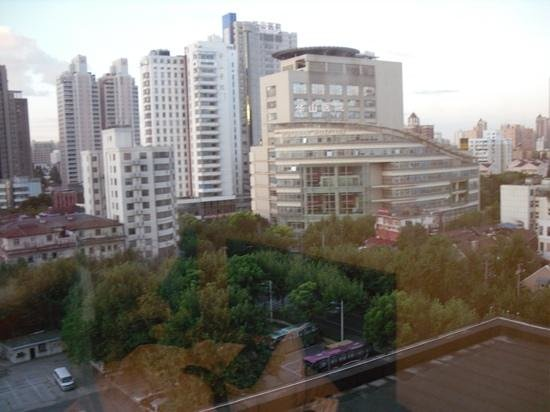 Shanghai Hotel: View from our window.