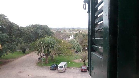 Hotel Casino Carmelo : Vista desde las escaleras...