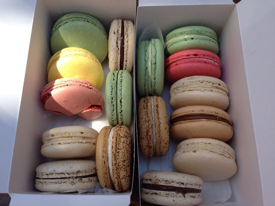 Bouchon Bakery: Delicious macaroons!