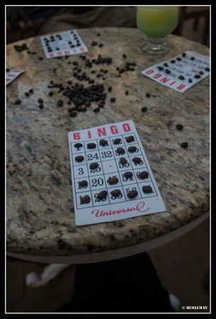 Hotel Riu Guanacaste: Bingo Card