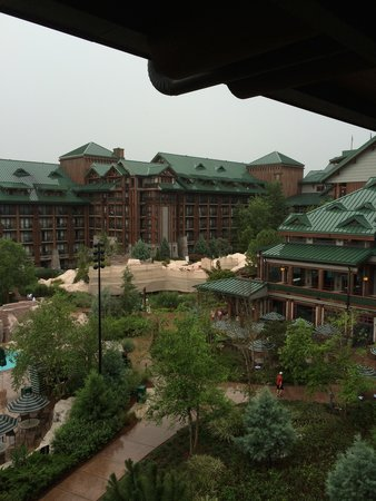 Disney's Wilderness Lodge: The view from the room