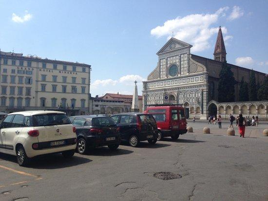 Hotel L'Orologio: The View of the Piazza di Santa Maria Novella