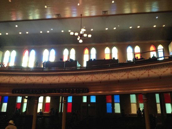 Ryman Auditorium: The Balcony