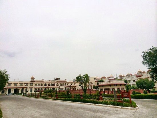 Taj Jai Mahal Palace Jaipur: exterior view of the hotel