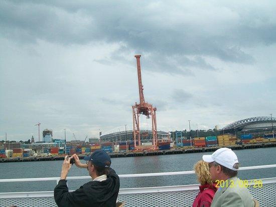 Argosy Cruises - Seattle Waterfront : Seattle seen from Argosy boat tour
