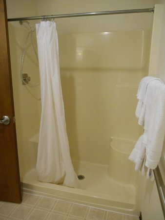 Mt. St. Helens Motel: ADA walk-in-shower