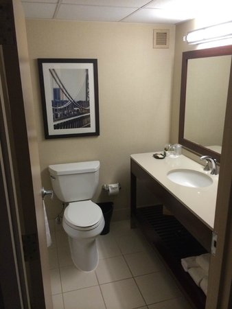 Sheraton Parsippany Hotel: the bathroom