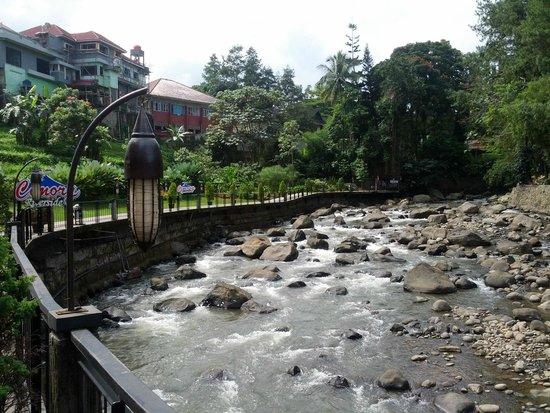 Sungai Ciliwung Picture Of Cimory Riverside Bogor Tripadvisor
