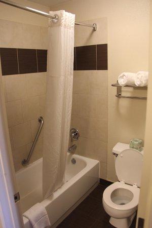 Clackamas Inn & Suites: Bathroom