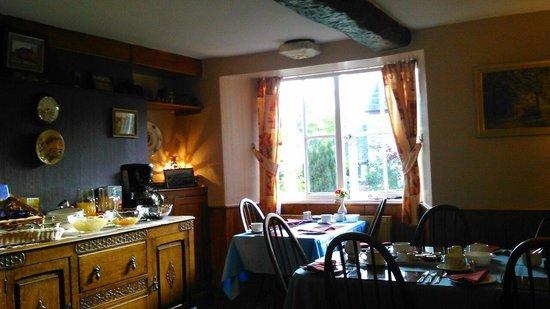Ide, UK: Salle petit déjeuner