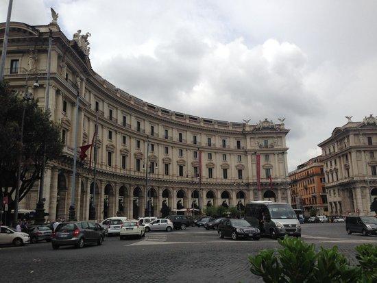 Boscolo Exedra Roma, Autograph Collection: Morning view