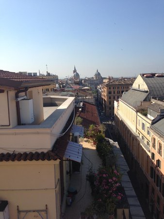 Boscolo Exedra Roma, Autograph Collection: View from above