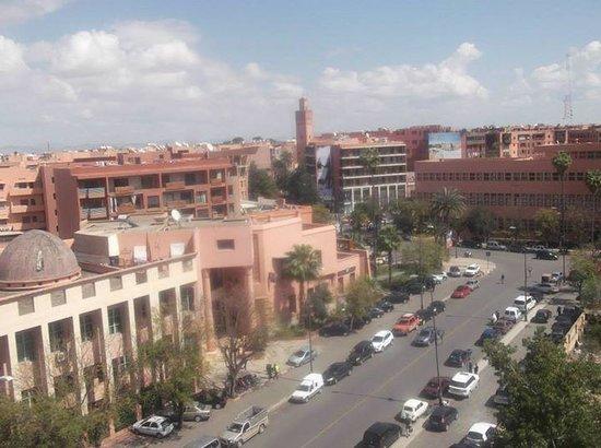 Hotel Almas: view from top floor