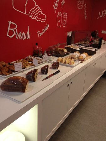 Turin Hotel: Some of the breakfast options