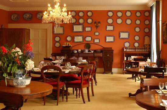 Rosleague Manor Hotel: Dining Room