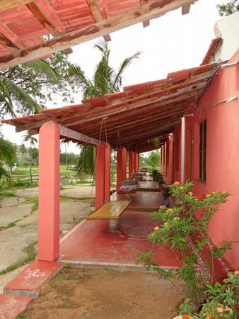 Gowri Resort: The sit out