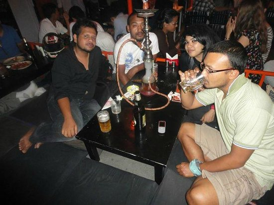 Thamel: Having fun