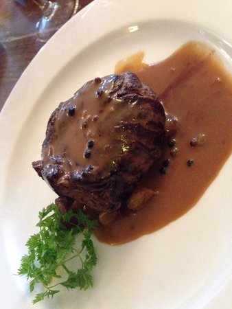 Rosleague Manor Hotel: Steak with Pepper sauce