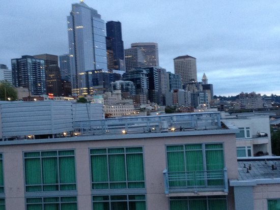 Seattle Marriott Waterfront : City view side 2014 may
