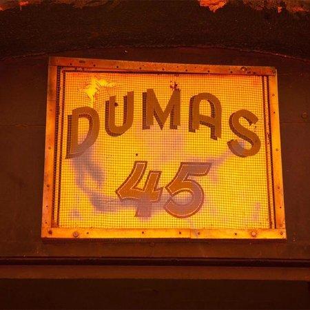 Dumas Brothel Museum: Old Dumas Sign